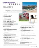 Architectural Record 2010 07 July