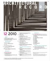 Architectural Record 2010 12 December