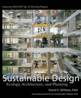 Williams, Daniel E. - Sustainable Design. Ecology, Architecture and Planning
