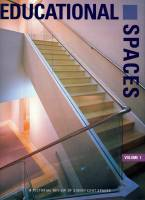 Educational spaces, Volume 1 (Primary and Secondary Education Spaces, Adult Education Spaces)