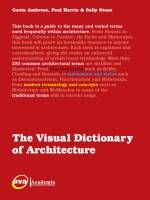 Gavin Ambrose, Paul Harris & Sally Stone - The Visual Dictionary of Architecture