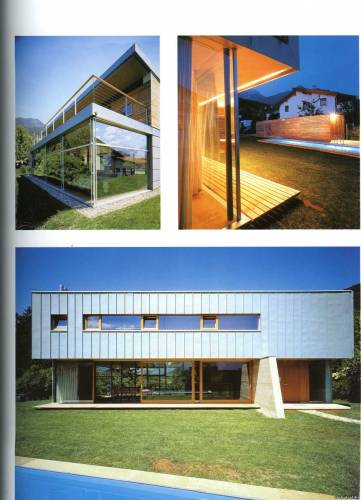 New country houses. Architectural design
