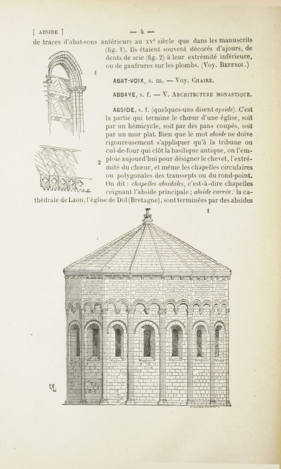 Viollet le duc eug ne emmanuel dictionnaire raisonn de for Architecture dictionnaire