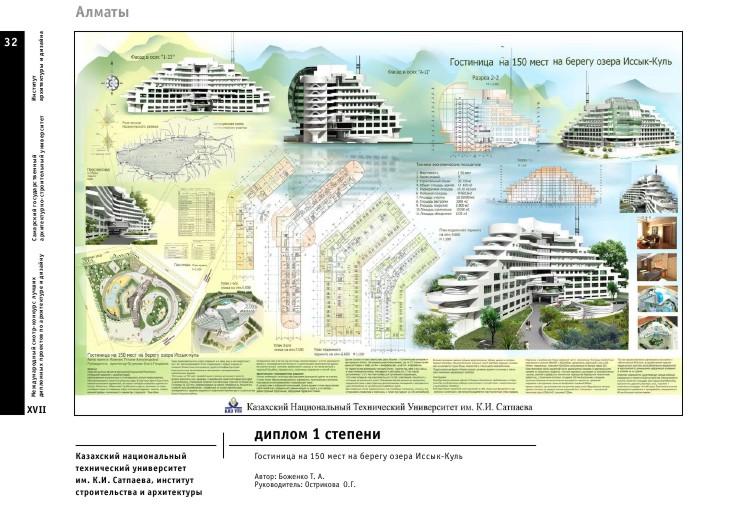 Дипломные работы архитектура конкурс