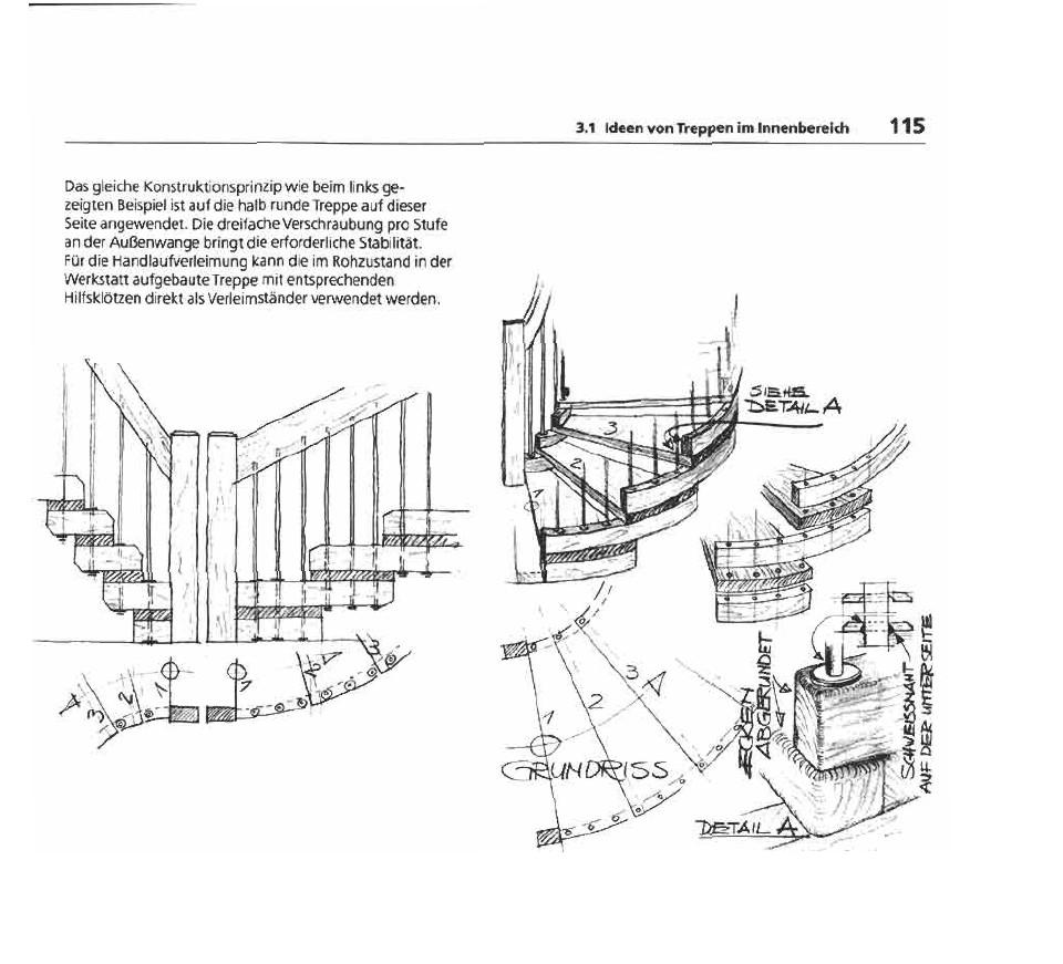 willibald mannes treppen skizzen 16. Black Bedroom Furniture Sets. Home Design Ideas