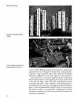 Charles Correa - The New Landscape: Urbanisation in the Third World